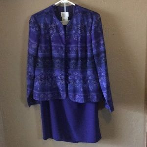 Vintage Two-Piece Skirt Suit